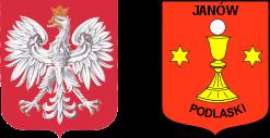 Herby Rzeczpospolitej Polskiej oraz Janowa Podlaskiego